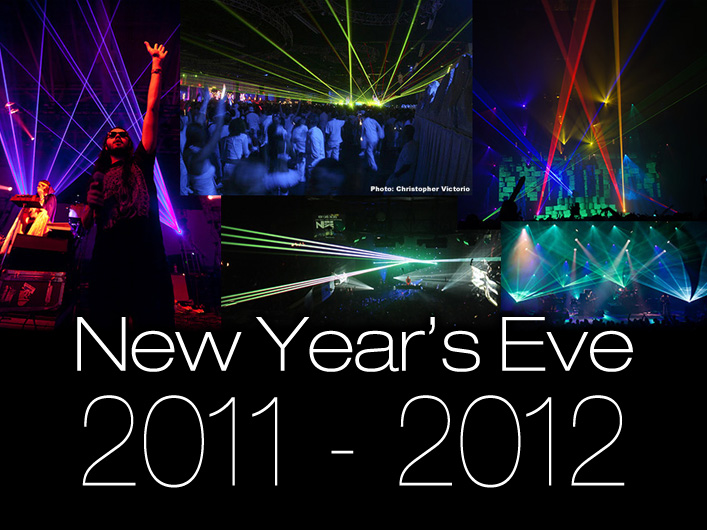 As the clock struck midnight on January 1, 2012, thousands of people celebrated the new year with performances from Lightwave's award winning team of laser artists. Lasers blazed through the night from coast to coast at events in Los Angeles, Denver, Dallas, Chicago, Pittsburgh and New York.