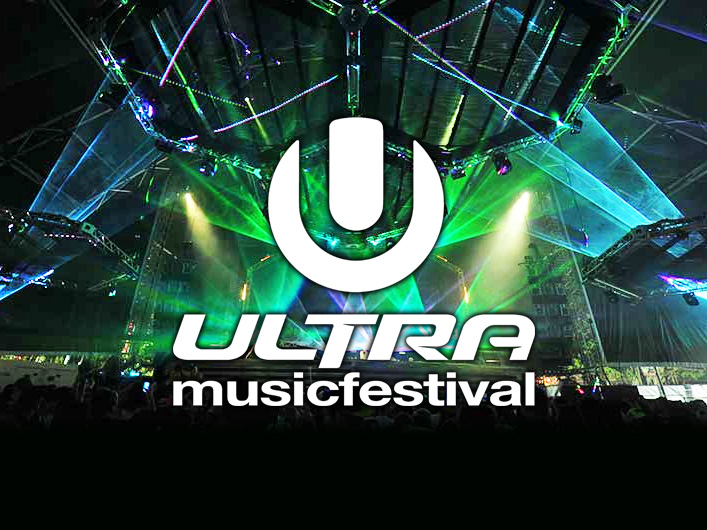 Lightwave International provides lasers for Ultra Music Festival.
