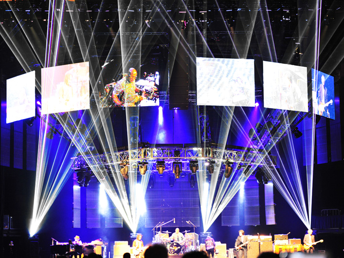 Lightwave International provides lasers for the Tom Petty World Tour