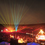 The Electric Daisy Carnival (EDC) with laser special effects by Lightwave International