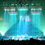 The Family Values Tour with Lightwave International providing crowd pleasing laser special effects