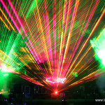 Lightwave International provides amazing laser shows for Fourth of July spectaculars in place of, or with, fireworks