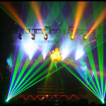 Korn Tours with Lightwave International laser special effects