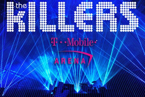 The Killers Open the Las Vegas T-Mobile Arena